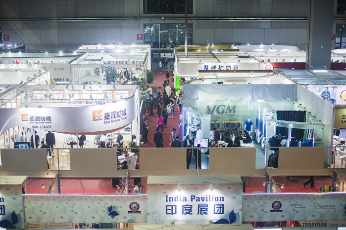 Hall overview. © Messe Frankfurt / Yarn Expo Autumn edition