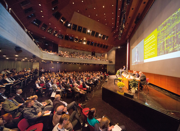 The event will feature panel discussions on a number of subjects. © Dornbirn-MFC