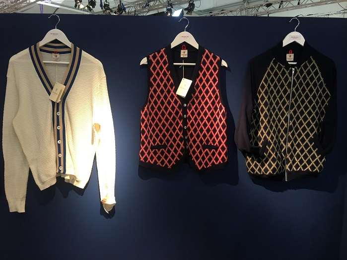 Knitwear at Pitti Uomo. © Janet Prescott