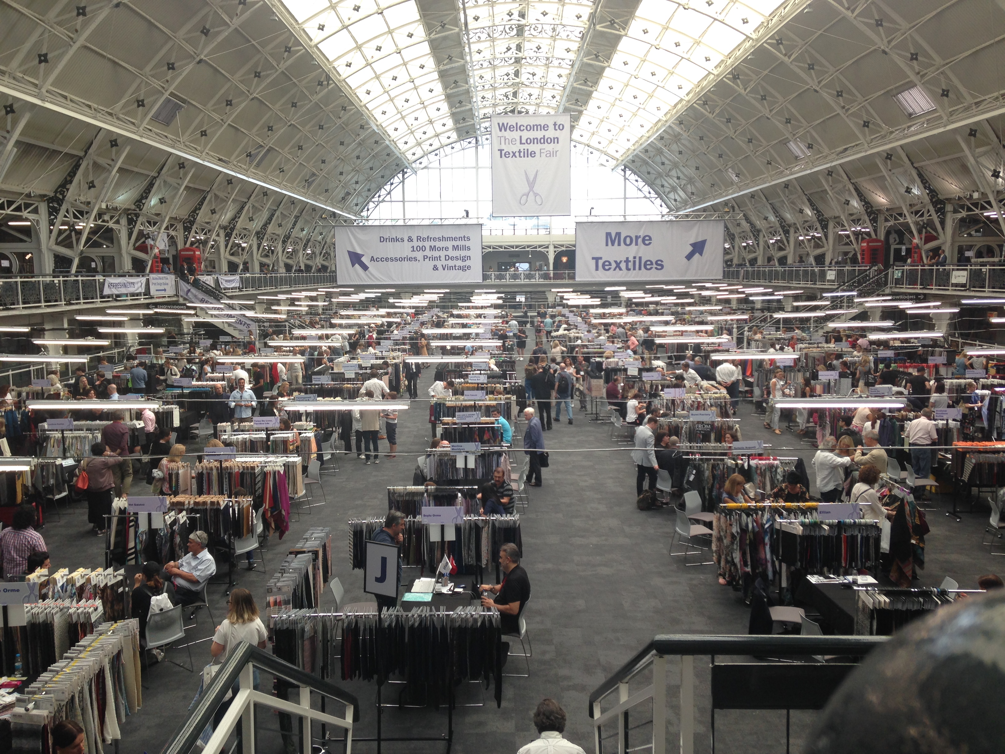 London Design Centre hosts London Textile Fair.