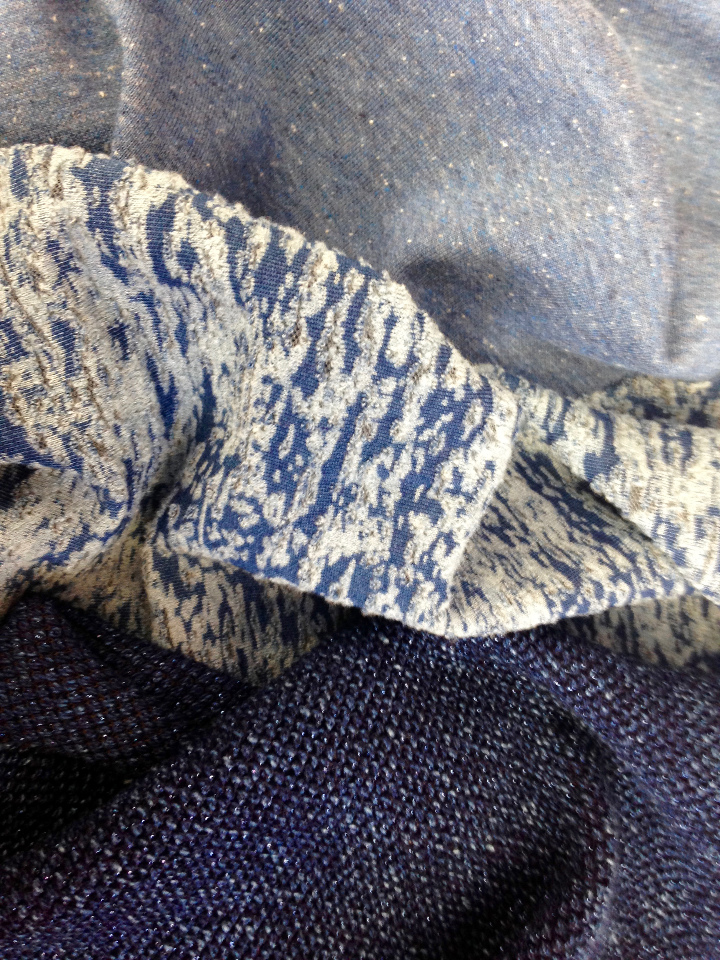 indigo knitted fabric, proving popular for denim loving brands