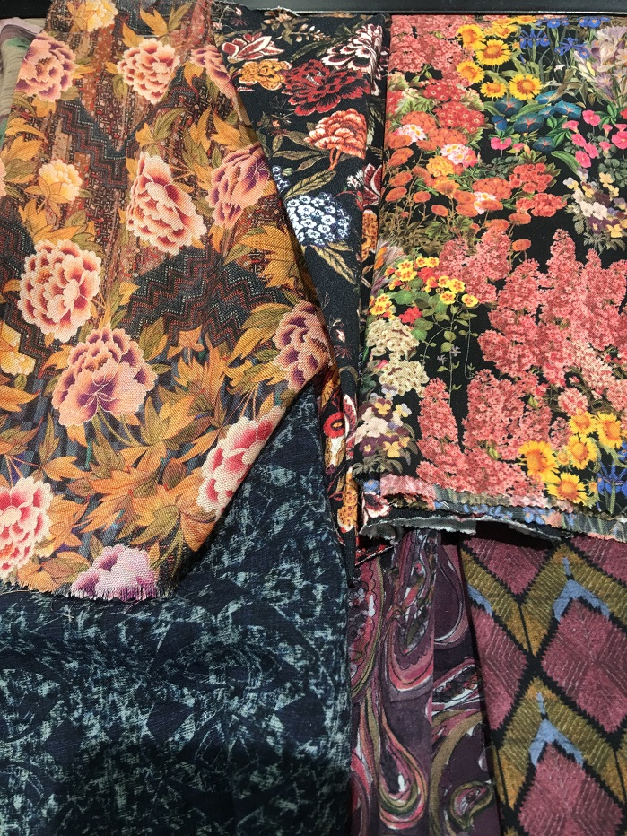 Exuberant florals. © Janet Prescott