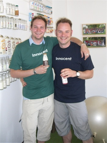 Innocent Smoothies used uktshirtprinting.com to make sustainable branded merchandise. © Rapanui