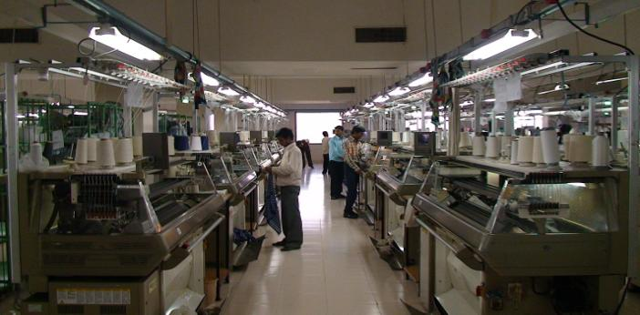 Winsome is a substantial operation, based in Chandigargh in North West India. © Winsome Yarns