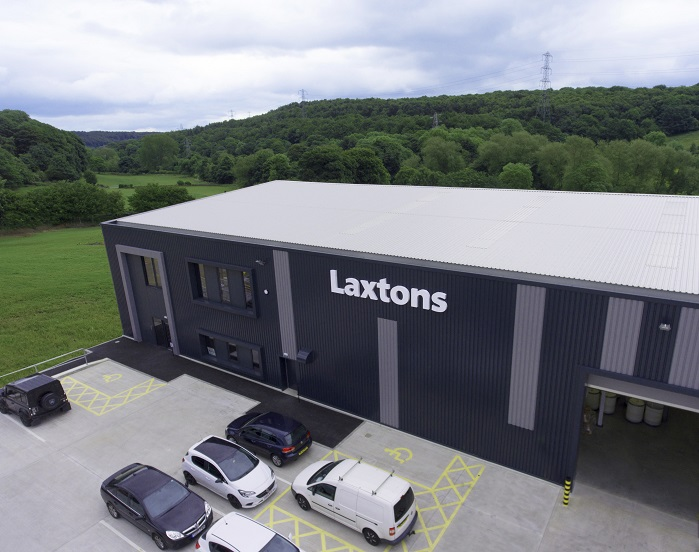 Laxtons new mill. © Laxtons