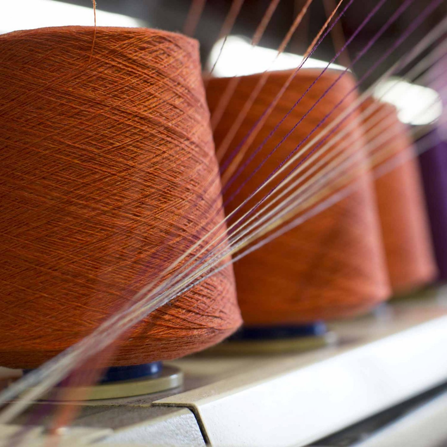 Johnstons of Elgin knitwear production facility is located in the historic town of Hawick in the beautiful Scottish Borders, known for its rich textiles heritage and the highest quality cashmere and woollen products. © Johnstons of Elgin