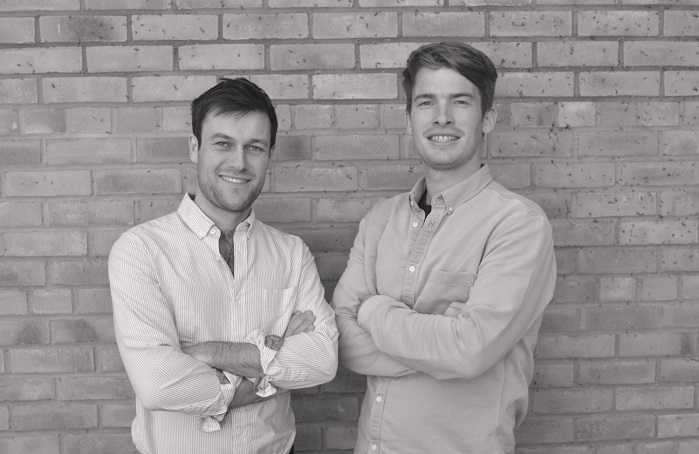Co-founders John Wilson and Gus Bartholomew. © Supplycompass