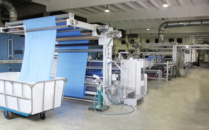 New Brückner line for knitted fabric at CDL Knits, Mauritius. © Brückner Textile Machinery/ Tropic Knits Group