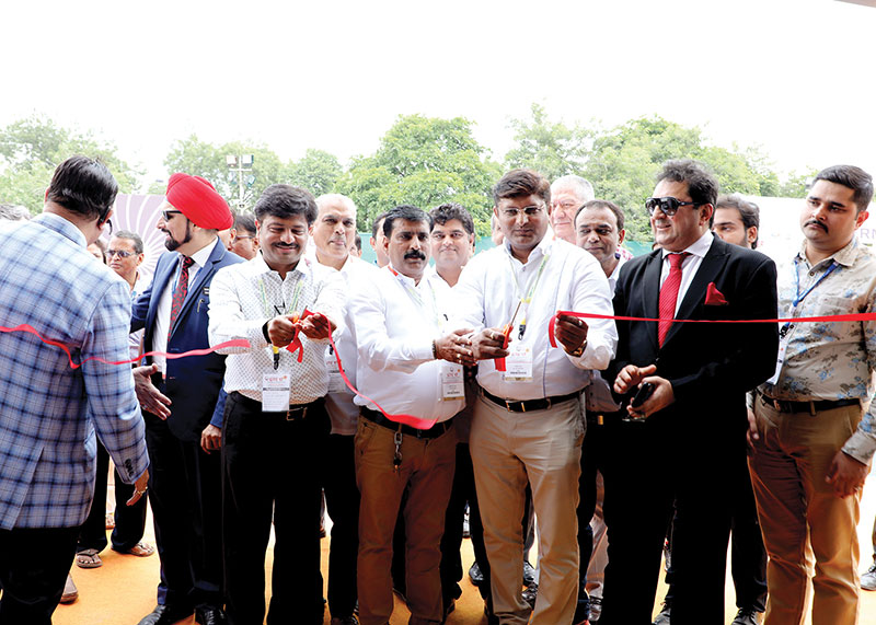 The annual Garment Technology Expo is the flagship event of GTE New Delhi and is held in spring. © Garment Technology Expo