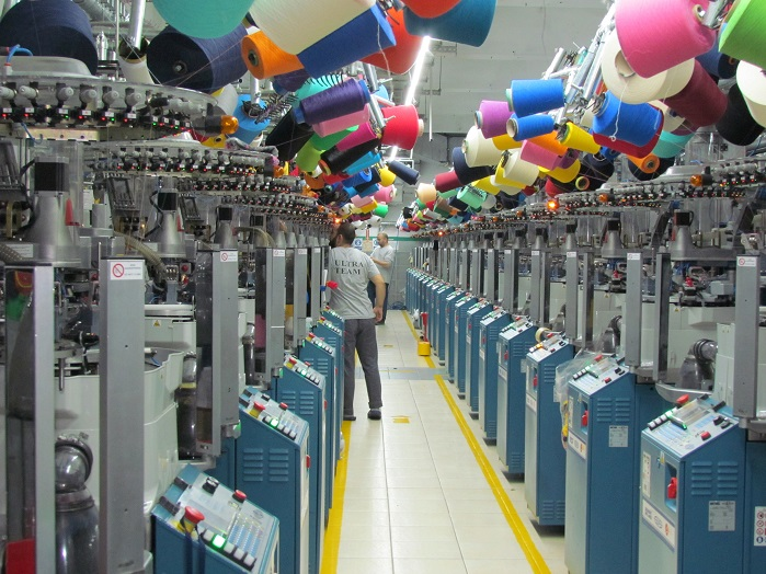 Turkish socks industry is an important player in the world's socks market. © Hasan Gulveren