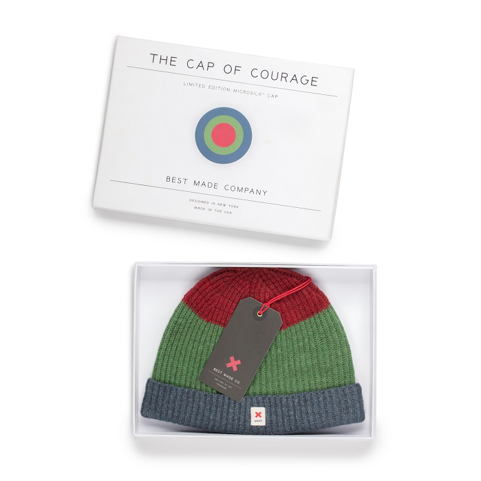 The hat marks Bolt Threads' second commercially available product using Microsilk. © Bolt Threads