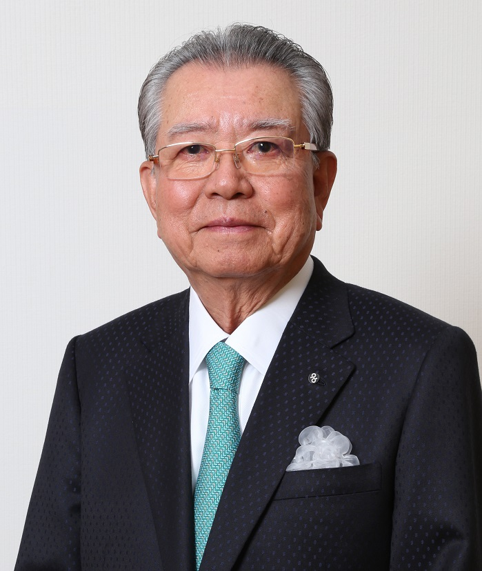 Dr Masahiro Shima, Founder and Chairman of the board of directors of Shima Seiki. © North Carolina State University