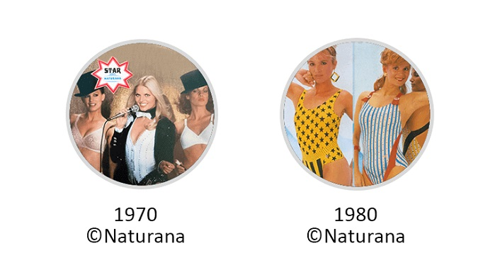 Naturana quickly became known as the brand for a new modern woman. © Invista/ Naturana