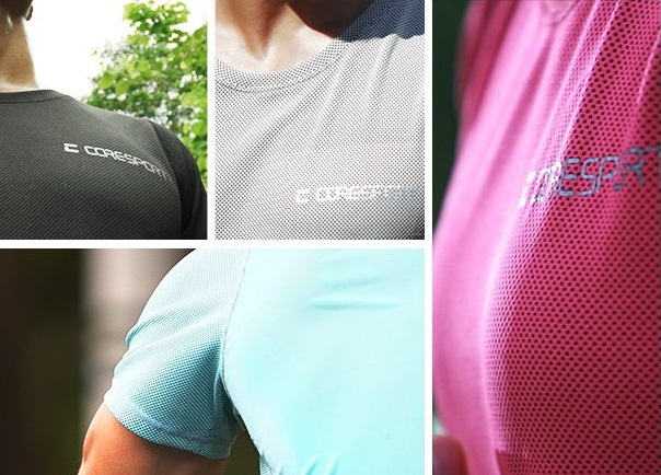 The new product is made of Specific Heat Capacity yarn and bamboo charcoal fibres. © CoreSport
