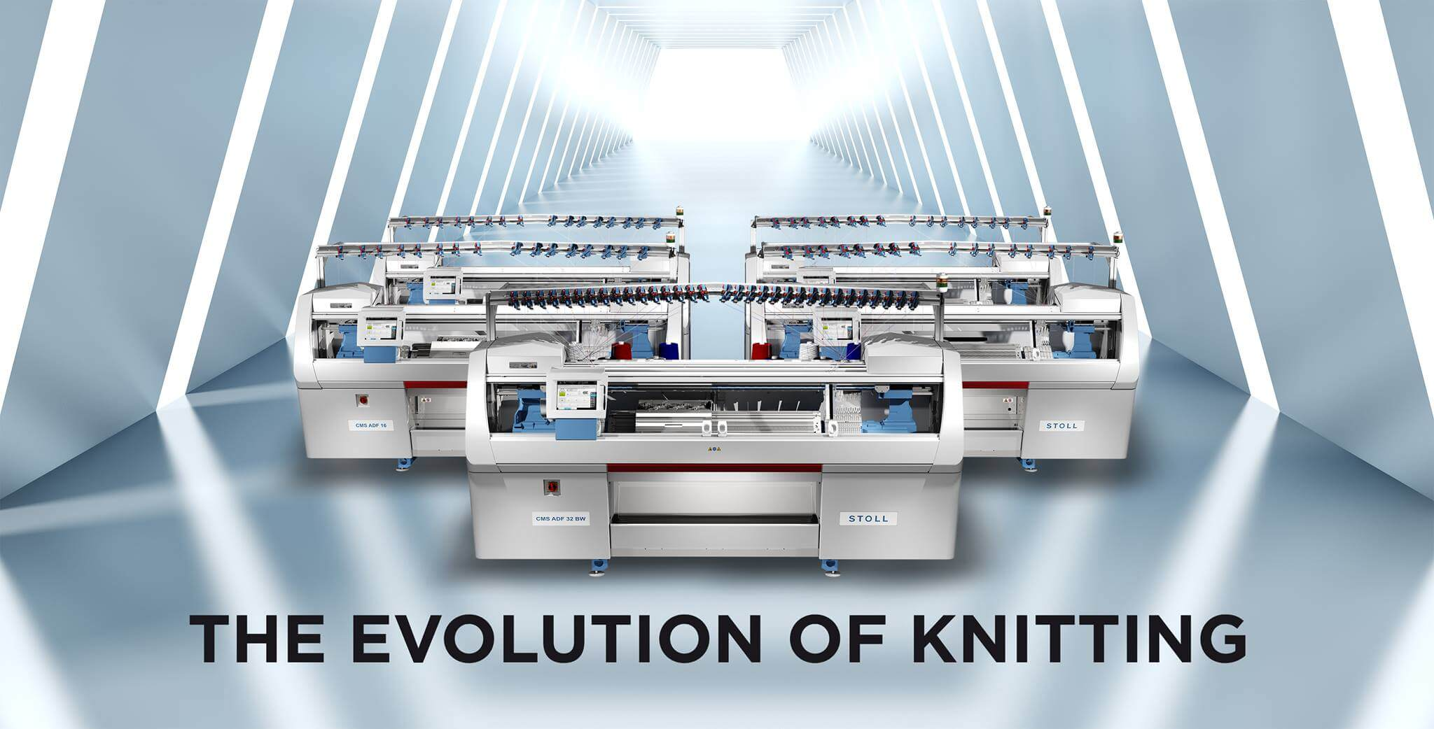 "In a press release last night the companies announced that ""advanced manufacturing will get a significant boost in Canada and the US when Stoll and Myant roll out 500 new 3D knitting machines to underpin the growth of functional computing textiles."" (c) Myant."