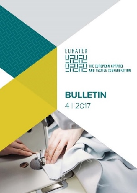 The bulletin gives an insight into the 2016 evolution of the textiles and clothing sector and short terms prospects, as well as the General European Economic Forecast Autumn 2017. © Euratex