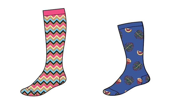 A new service is aimed at creating customised sock collections for customers' own brands. © Busi Giovanni