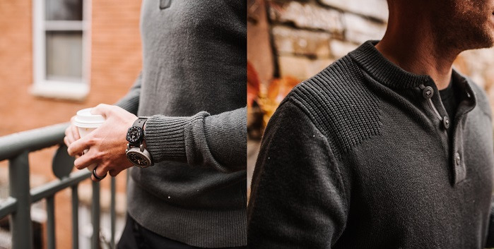 Triple Aught Journeyman sweater. © Triple Aught Design