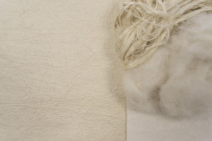 Pinatex fibre stages. © Claire Mueller/ ANANAS ANAM