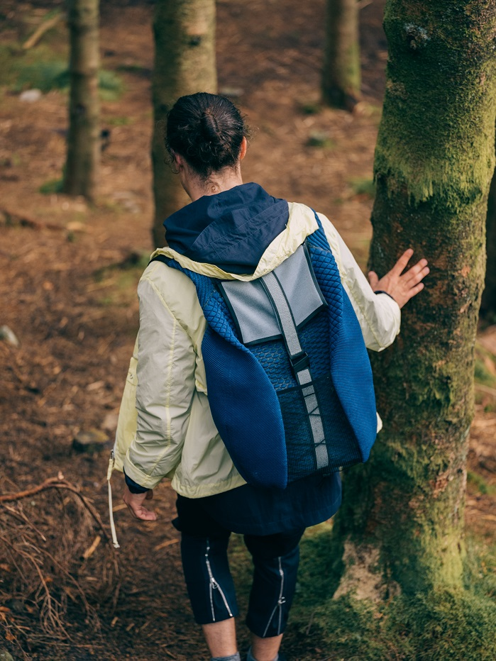 Designed for the nomadic lifestyle, Radius fits all essentials for a weekend trip. © Ola Krondahl