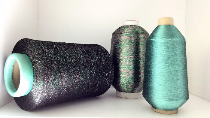 Shi Kwan is a Taiwanese company specialising in metallic fancy yarns. © SPINEXPO