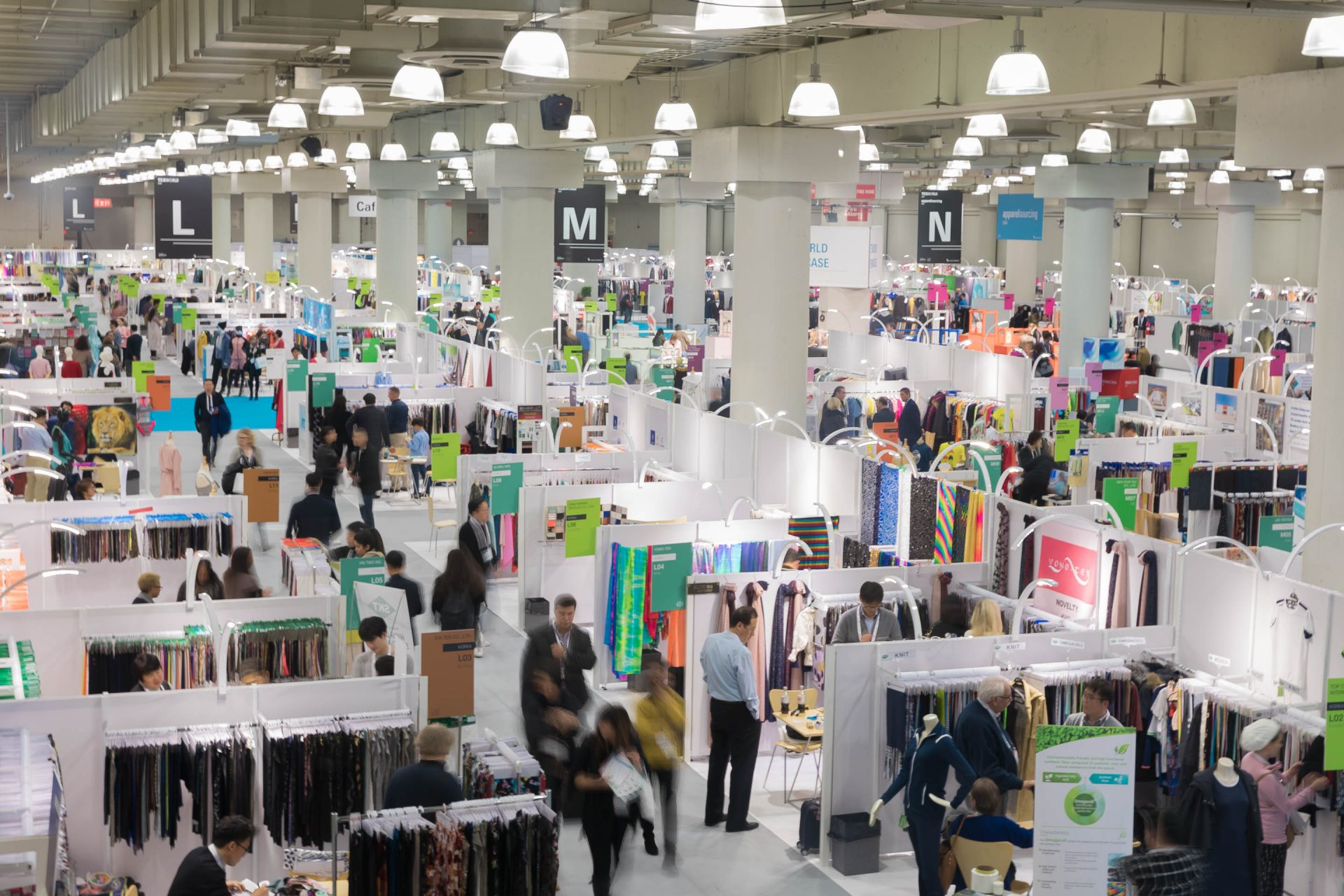 Texworld USA and Apparel Sourcing USA opened their doors to exhibitors and visitors alike on 22 January. © Messe Frankfurt/Texworld USA and Apparel Sourcing USA