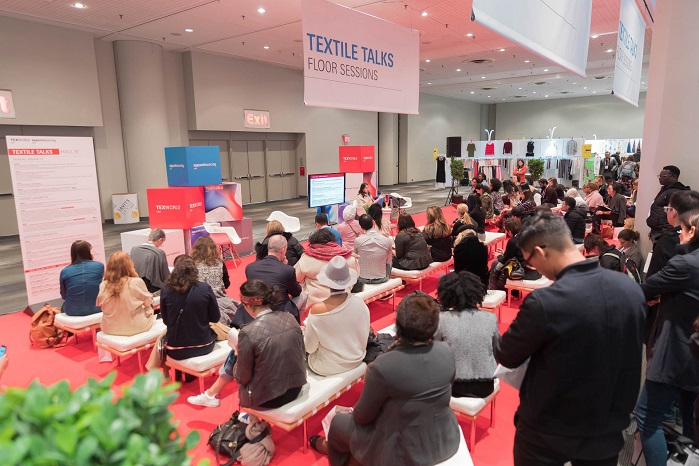 Texworld's educational seminar series, organised by Lenzing Fibers returned for Winter 2018. © Messe Frankfurt/Texworld USA and Apparel Sourcing USA