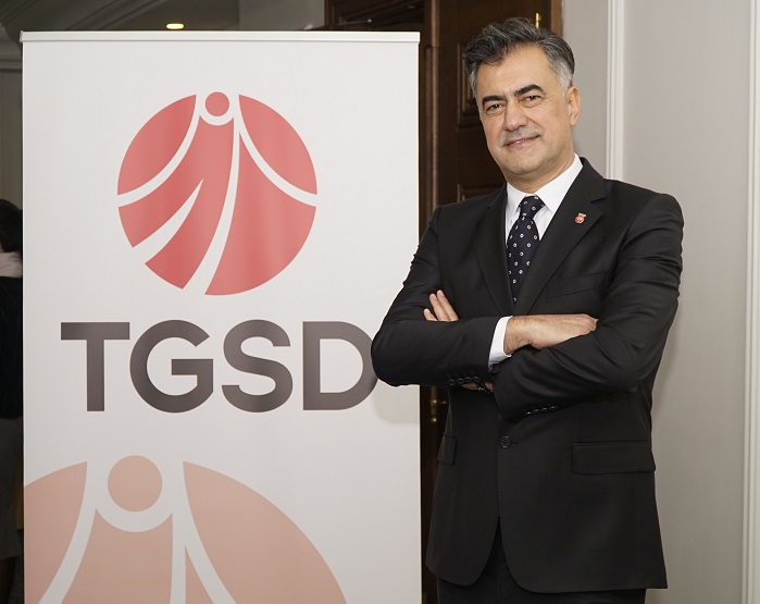 Hadi Karasu, the new President of Turkey Clothing Manufacturers' Association. (c)(TGSD).