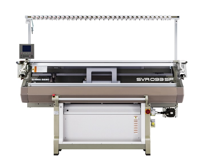 SVR093SPSV computerised knitting machine. © Shima Seiki