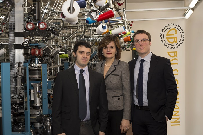 Catina Busi, General Manager of Busi Giovanni, with nephews Leonardo and Francesco. © Busi Giovanni