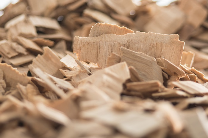 Wood chips. © Lenzing AG