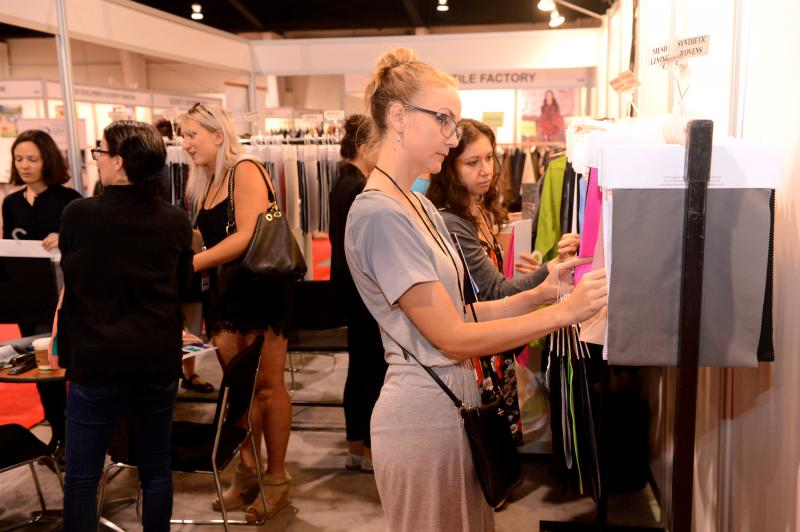 The show is a dynamic industry event and business platform bringing together a range of categories. © Apparel Textile Sourcing