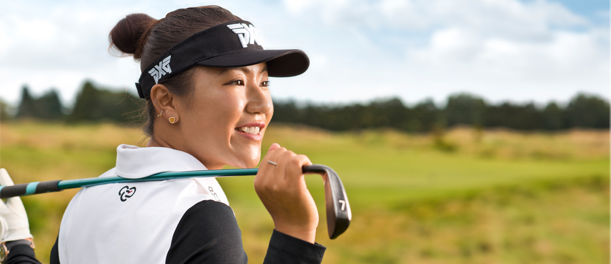 A pro golfer Lydia Ko wears Cool Modal golf shirts made by the McKayson brand. © Buhler