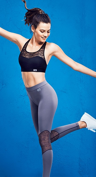 sloggi mOve Flex for women is made with 27% Lycra Xtra Life technology for lasting performance. © Invista