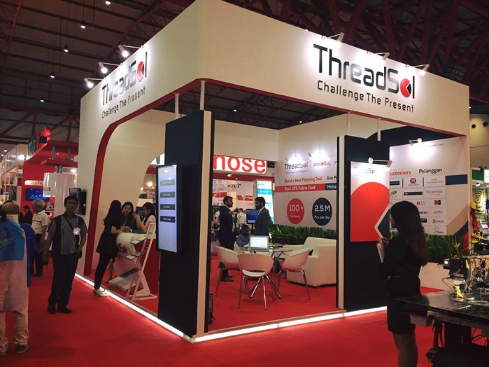 The new technology will be available for live demonstration at the Apparel Industry Suppliers Exhibition. © ThreadSol