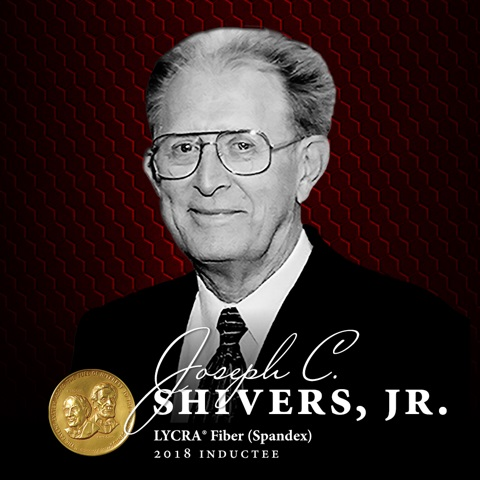 Invista makes donation to National Inventors Hall of Fame to honour fibre's inventor. © AATCC