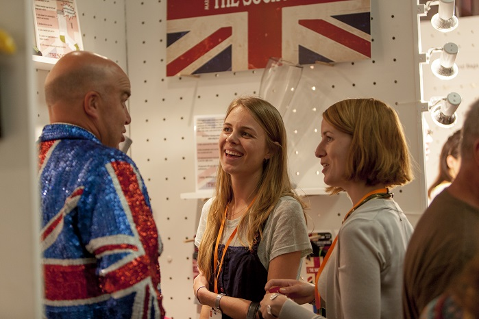 Make it British Live! takes place from 23-24 May at the Truman Brewery London. © Make it British