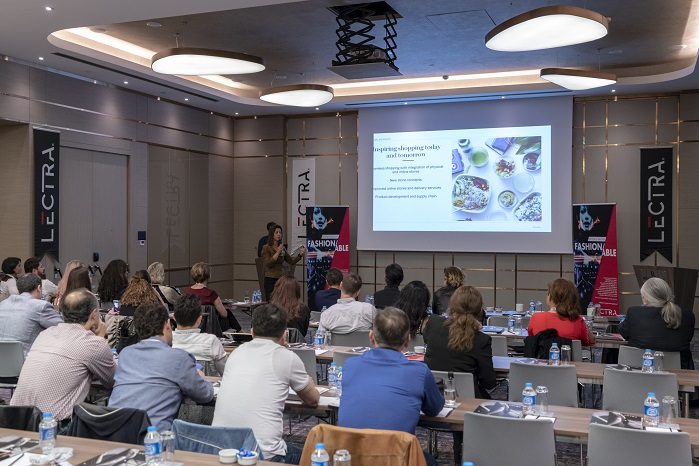 Lectra shared the knowledge of keeping up with the pace of fashion at an event, organised by its stakeholders in Istanbul, Turkey, last week. © Lectra