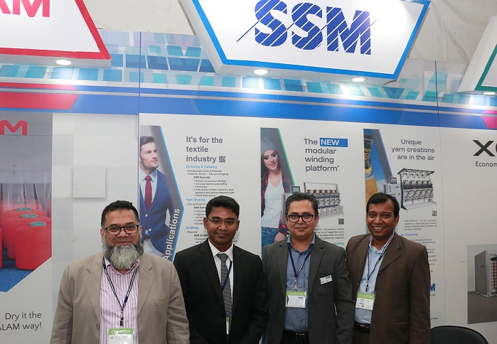 SSM at DTG 2018. © SSM Textile Machinery