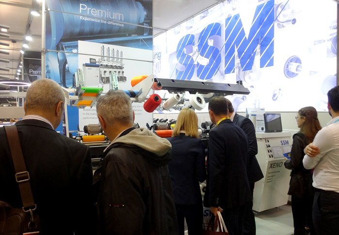 SSM at ITM 2018. © SSM Textile Machinery