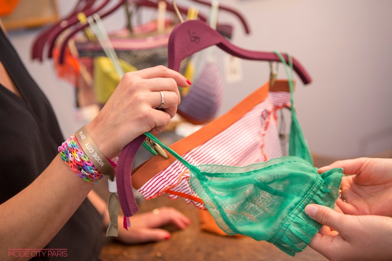 The issue of fabric safety is taking on an essential dimension for consumers in the fields of lingerie, swimwear, and activewear. © Eurovet/Interfilière Paris