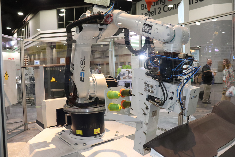 Quondac robotic sewing. © Adrian Wilson