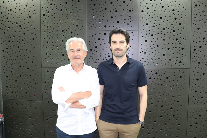 Mário and Ricardo Mano. © A. Monforts Textilmaschinen GmbH & Co. KG