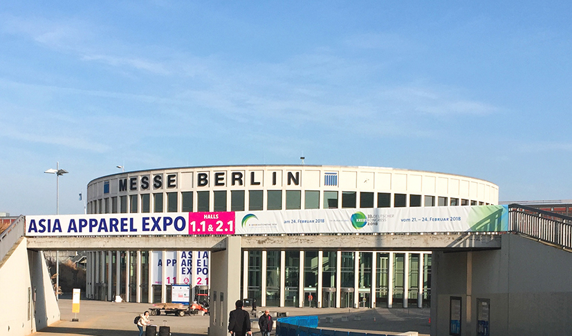 The 8th edition will take place from 20-22 February 2019 at the Berlin ExpoCenter City, Messe Berlin. © Asia Apparel Expo