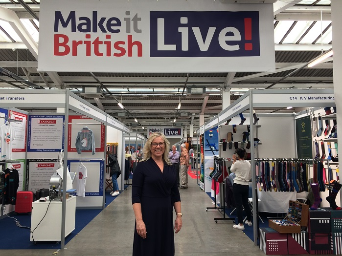 Kate Hills, founder of Make it British. © Knitting Industry