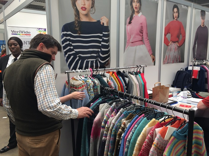 A lot of knitwear companies presented their products this year. © Knitting Industry