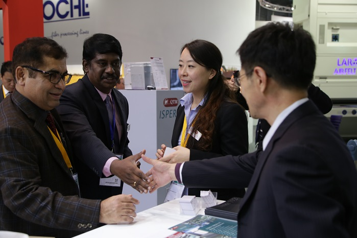 ITMA is the world's largest textile and garment technology exhibition. © CEMATEX/ITMA