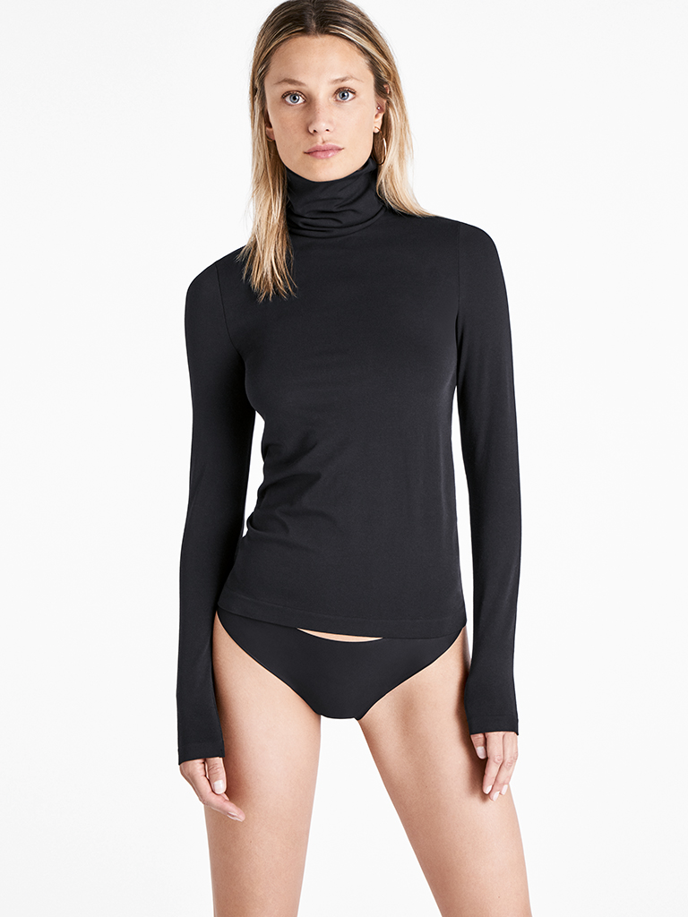 Wolford pullover with Roica Eco-Smart family. © Asahi Kasei