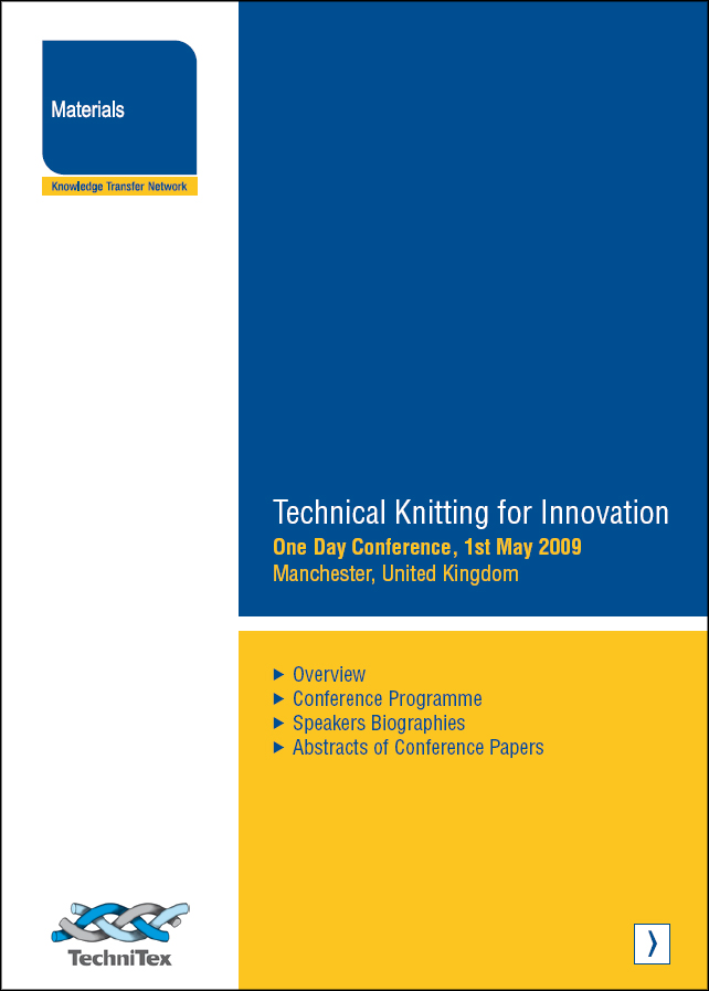 Technical Knitting for Innovation