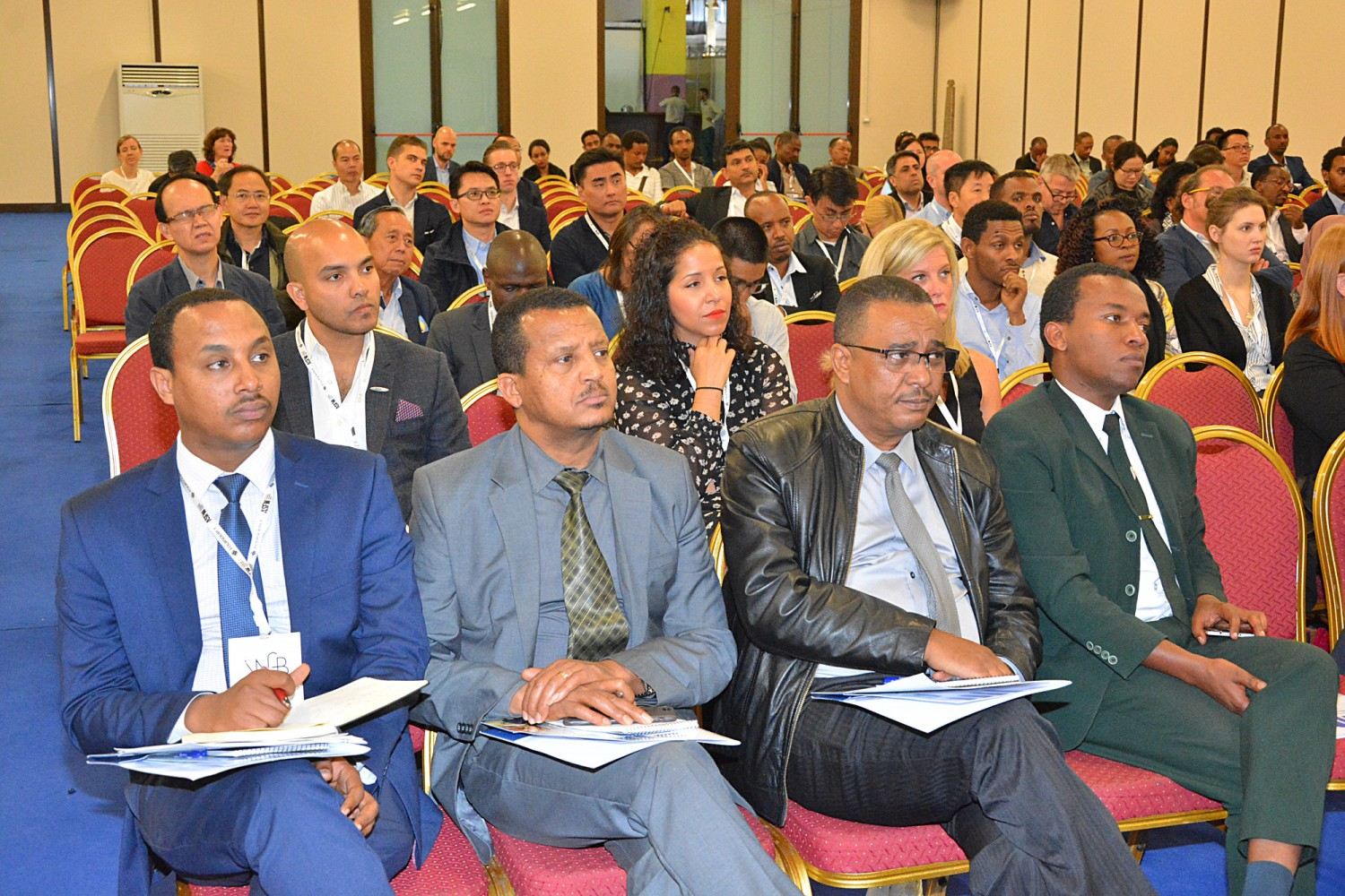 ASFW's conference takes up the topic of investment by a panel presented by the government of Ethiopia. © ASFW